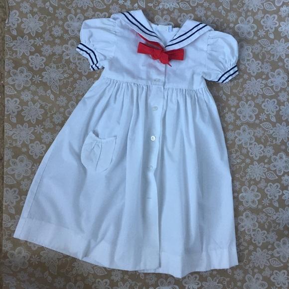 d9f2a0b6f6b1c Jayne Copeland Other - Jayne Copeland Girls Vintage Sailor Style dress
